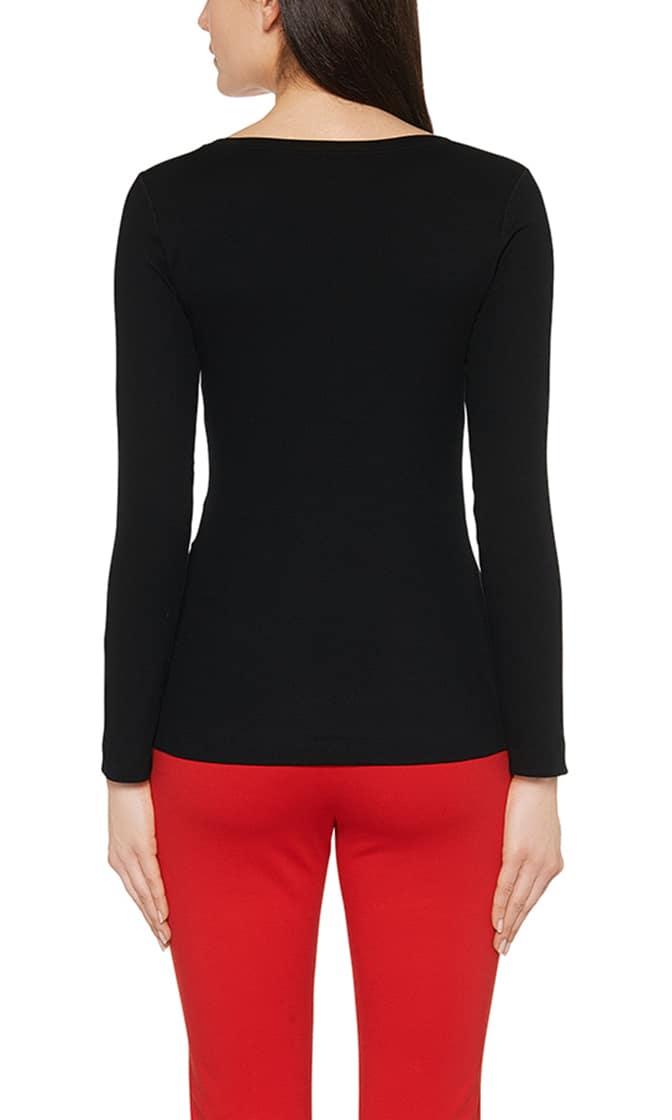 mottled long sleeve shirt 1