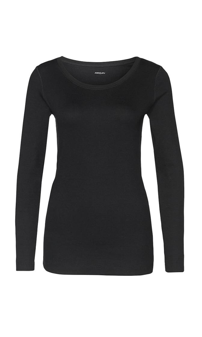 mottled long sleeve shirt 4