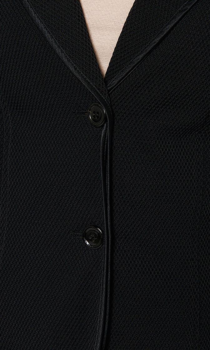 sporty blazer in 3d mesh 2