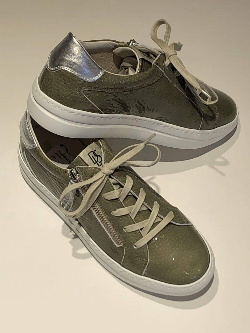 DLsport sneakers Gomma 4603 09 sweden olivia polaris argento scaled