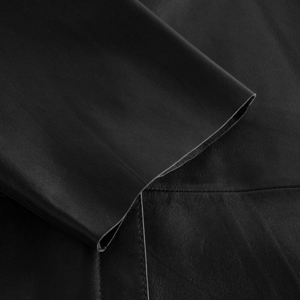 Depeche oversize skindskjorte sort 13626 099 2