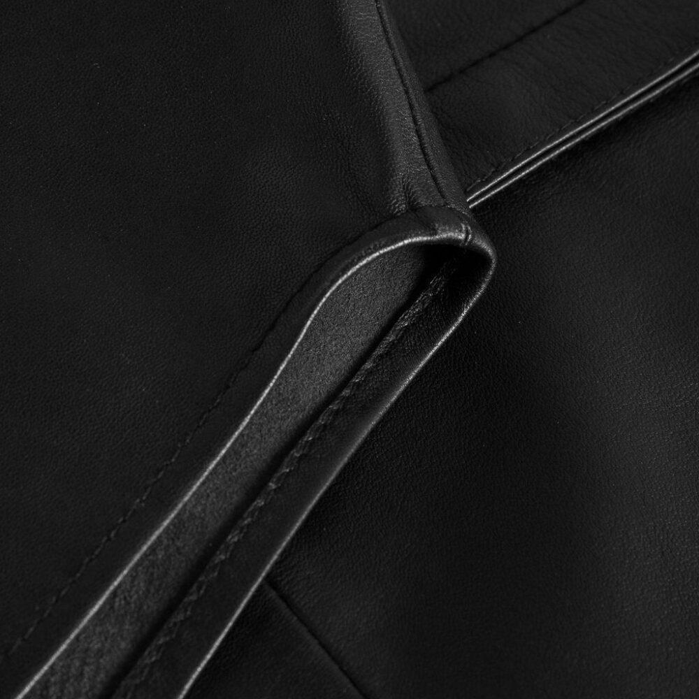 Depeche oversize skindskjorte sort 13626 099 4