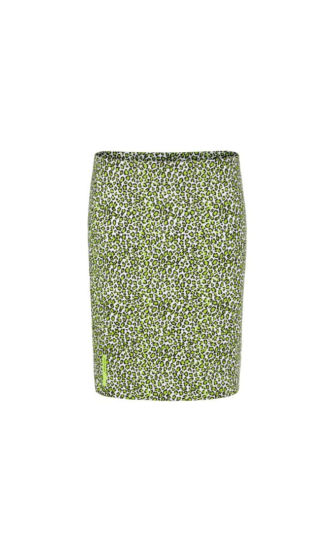 Marc Cain Sports nederdel printed neon lime NS7119J80 402