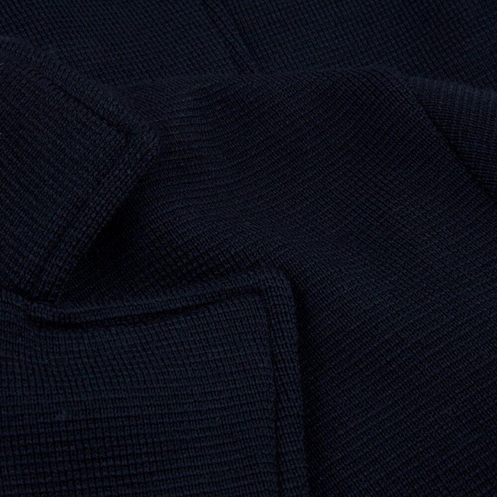 Stenstrøms strik uldjakke marineblå 450093 6151 190 2
