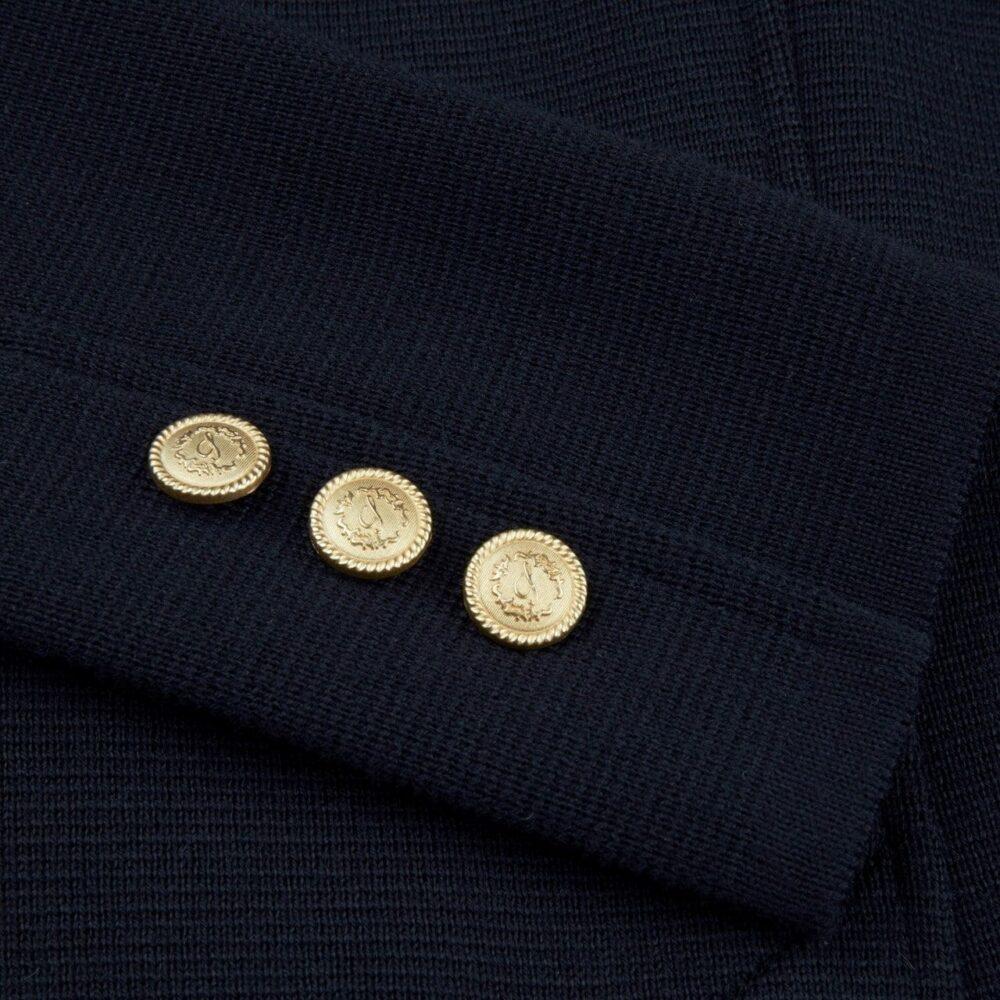 Stenstrøms strik uldjakke marineblå 450093 6151 190 5
