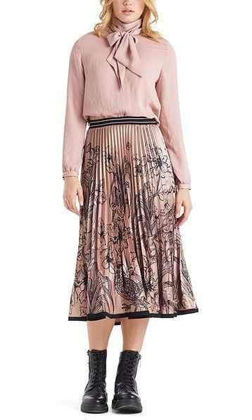 Marc Cain nederdel plisse rosa PC7143W60 214 1