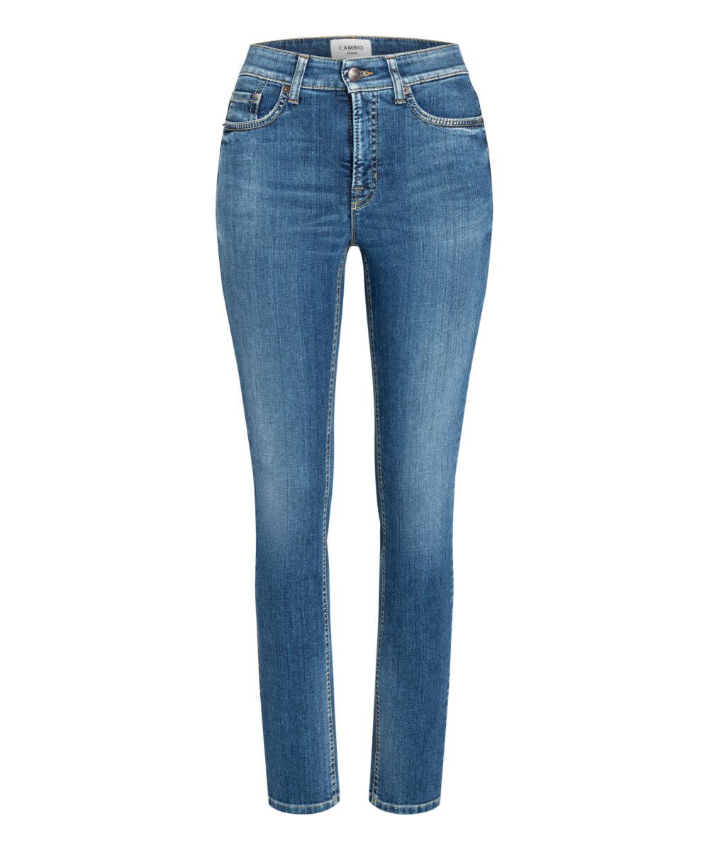 Cambio jeans Parla straight lys denim