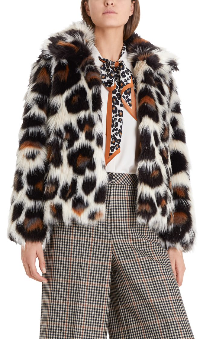 Marc Cain Collections jakke fake fur PC1205W98 696 1