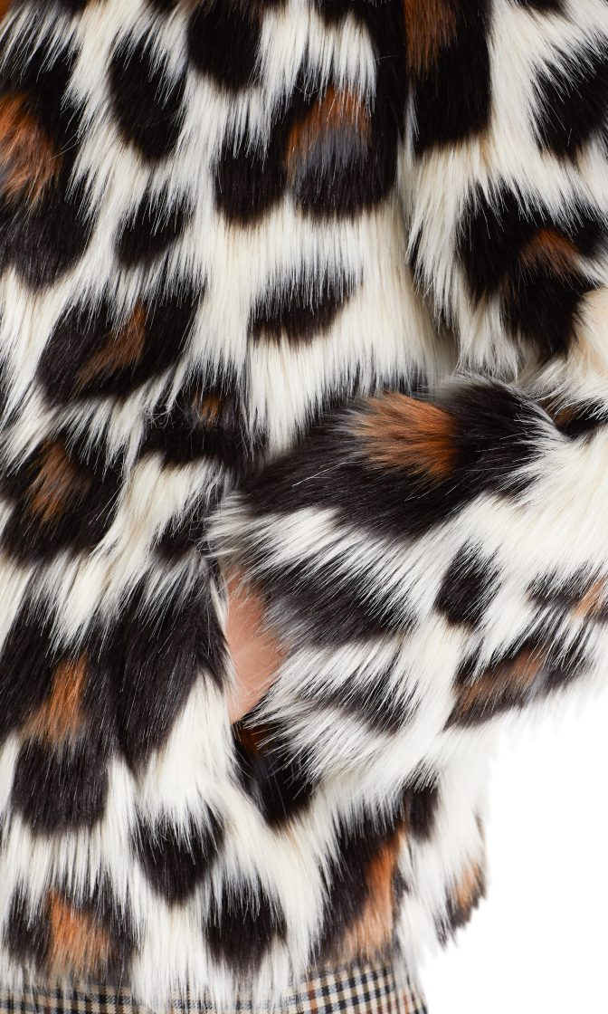 Marc Cain Collections jakke fake fur PC1205W98 696 4