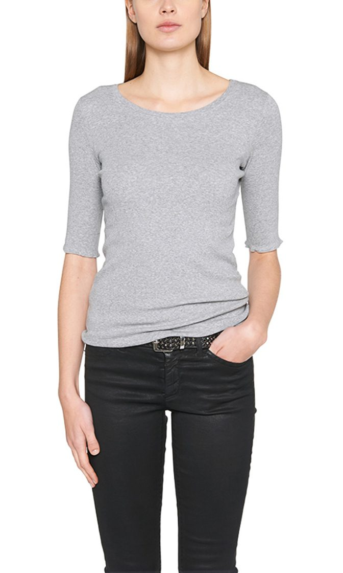 Marc Cain Essentials tshirt graa E4809J50 820 1