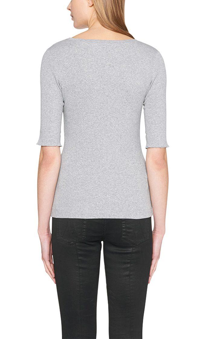 Marc Cain Essentials tshirt graa E4809J50 820 2