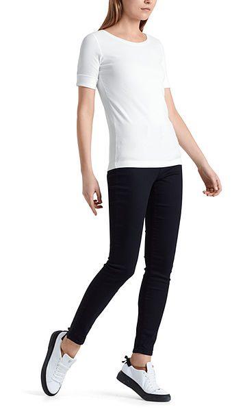 Marc Cain Essentials tshirt hvid E4809J50 100 1