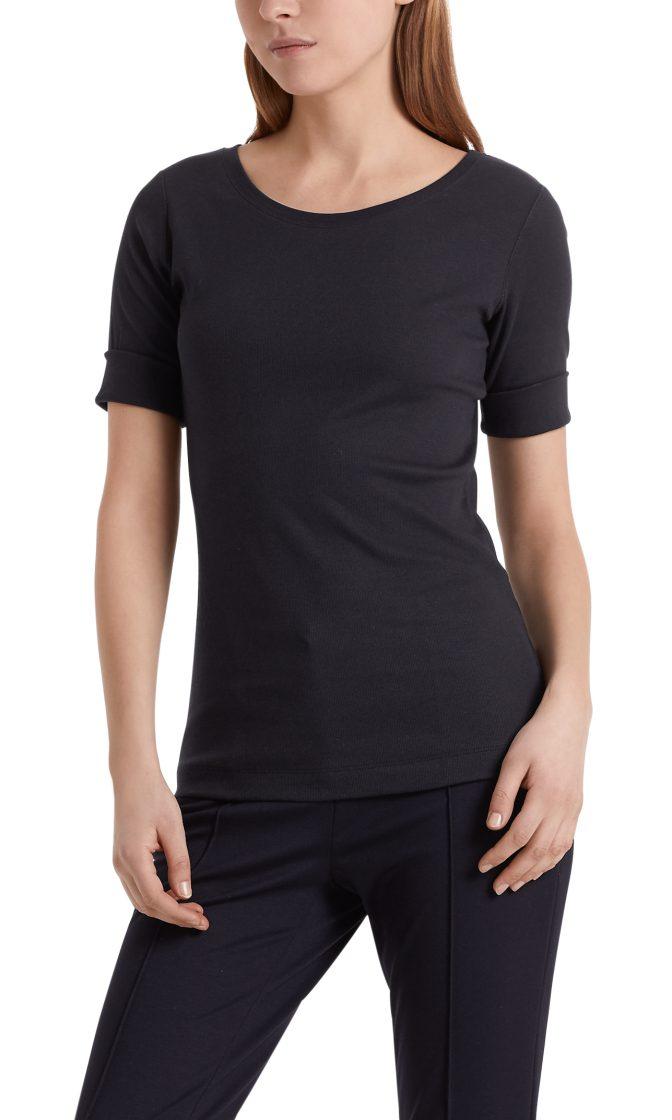 Marc Cain Essentials tshirt marine E4809J50 395 2