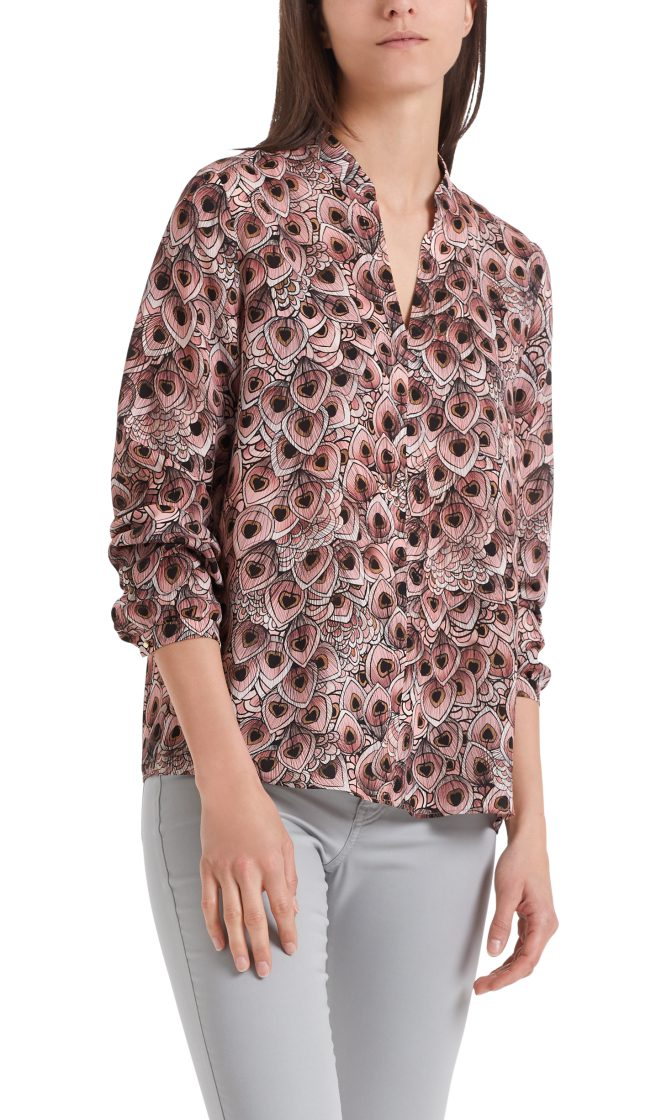 Marc Cain bluse dusty rose PA5107W38 203 2