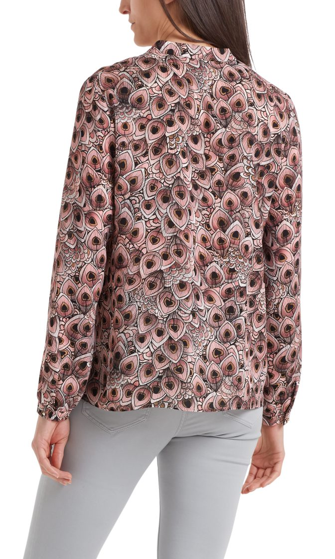 Marc Cain bluse dusty rose PA5107W38 203 3