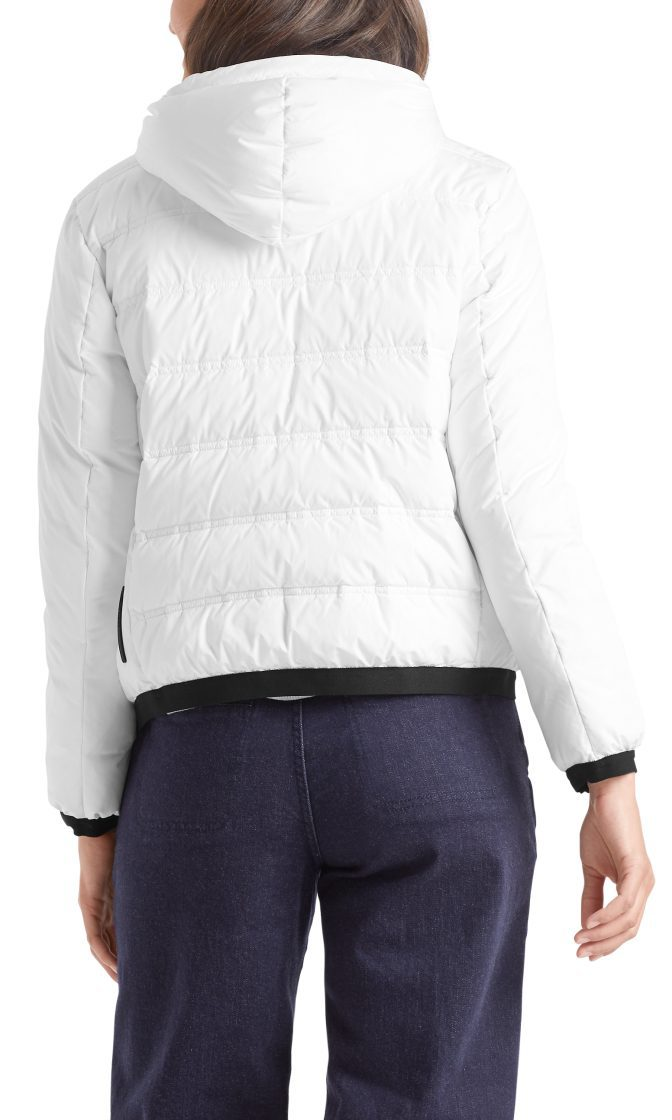 Marc Cain Sports quilted dunjakke hvid 2
