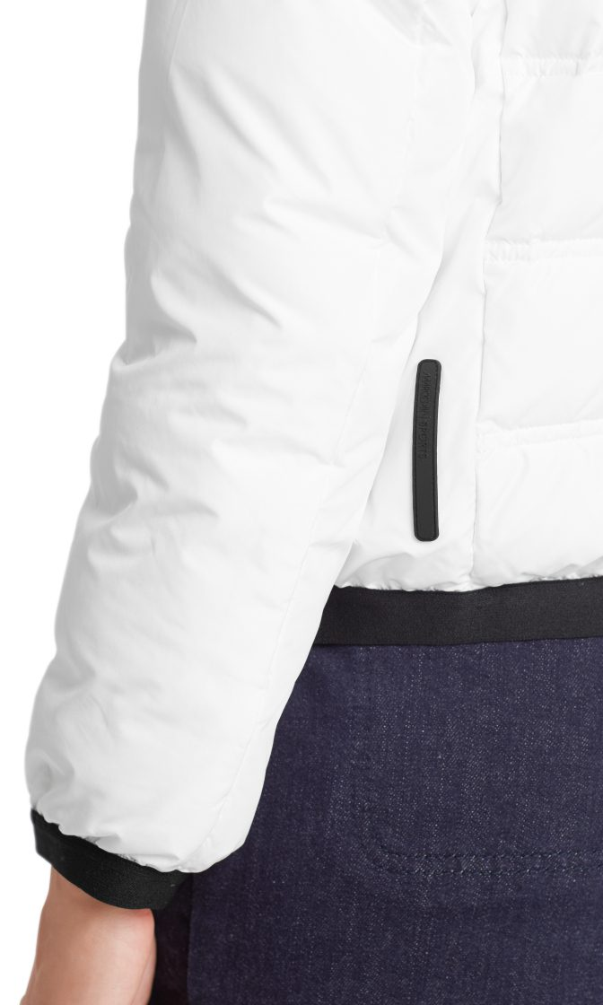 Marc Cain Sports quilted dunjakke hvid 4