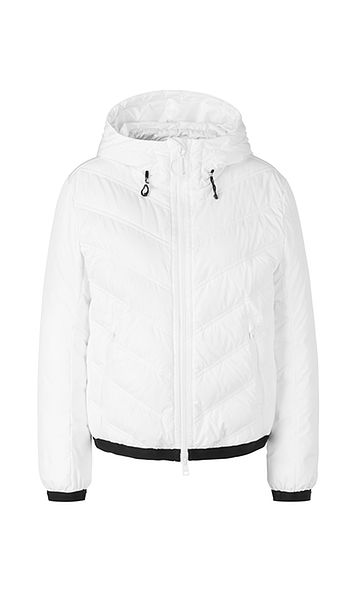 Marc Cain Sports quilted dunjakke hvid