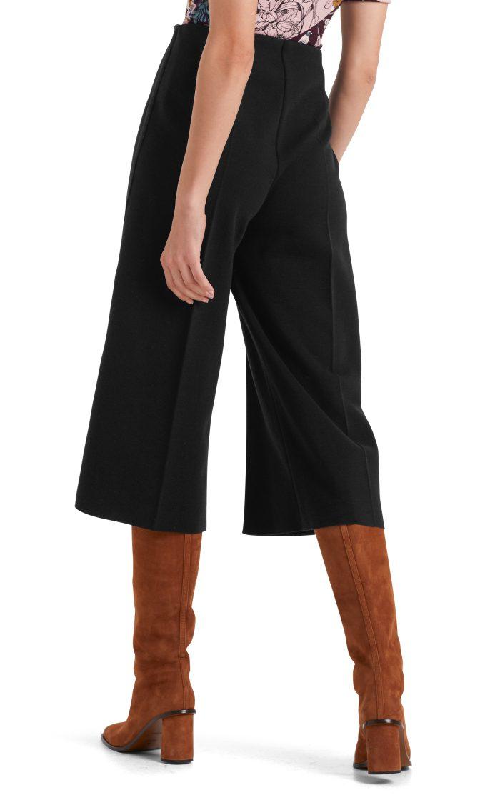Marc Cain culotte bukser sort i uld 3