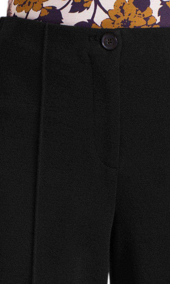 Marc Cain culotte bukser sort i uld 5