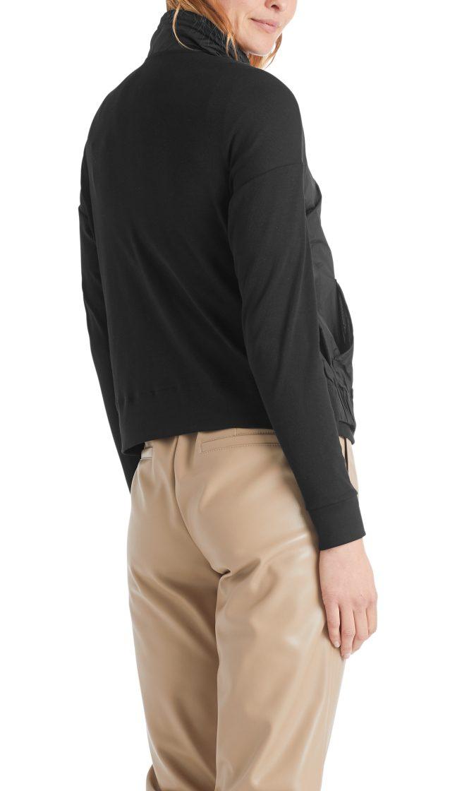 Marc Cain Sports jakke i mixed materiale sort 2