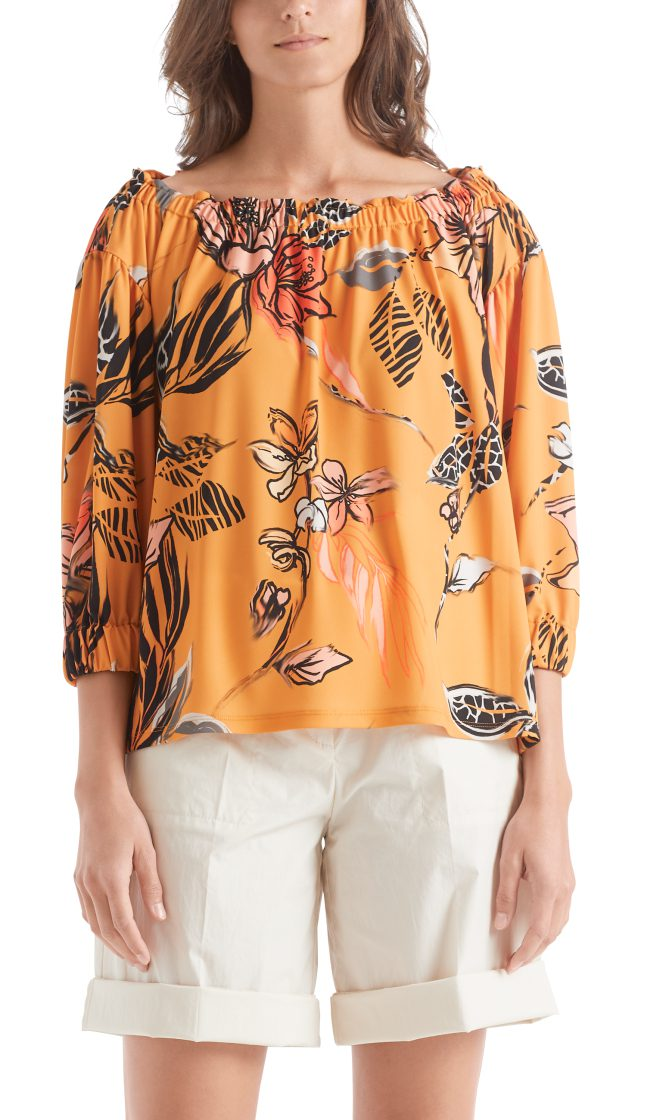 Marc Cain Collections floral printed top 1