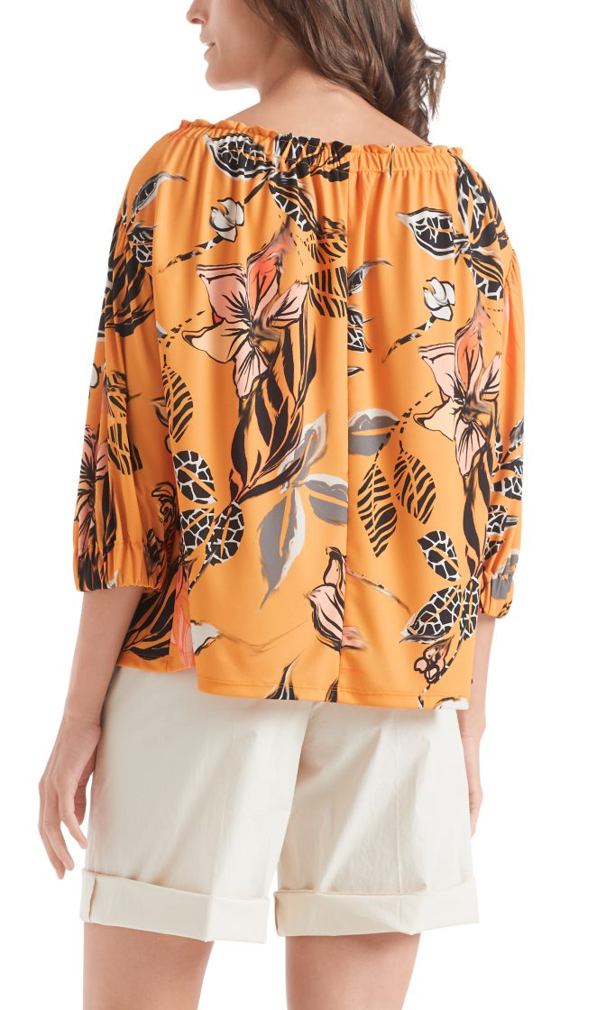 Marc Cain Collections floral printed top 2