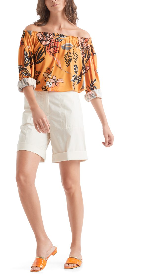 Marc Cain Collections floral printed top 3