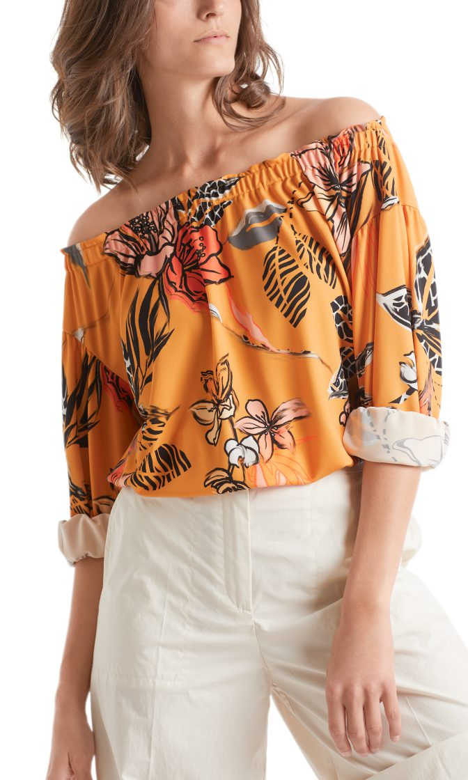 Marc Cain Collections floral printed top 4