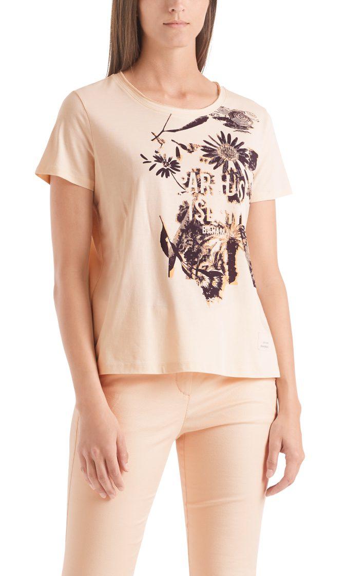 Marc Cain Sports printed T shirt powder rose 1