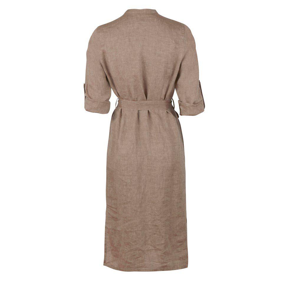 Stenstroems Anette kjole i linen beige 1