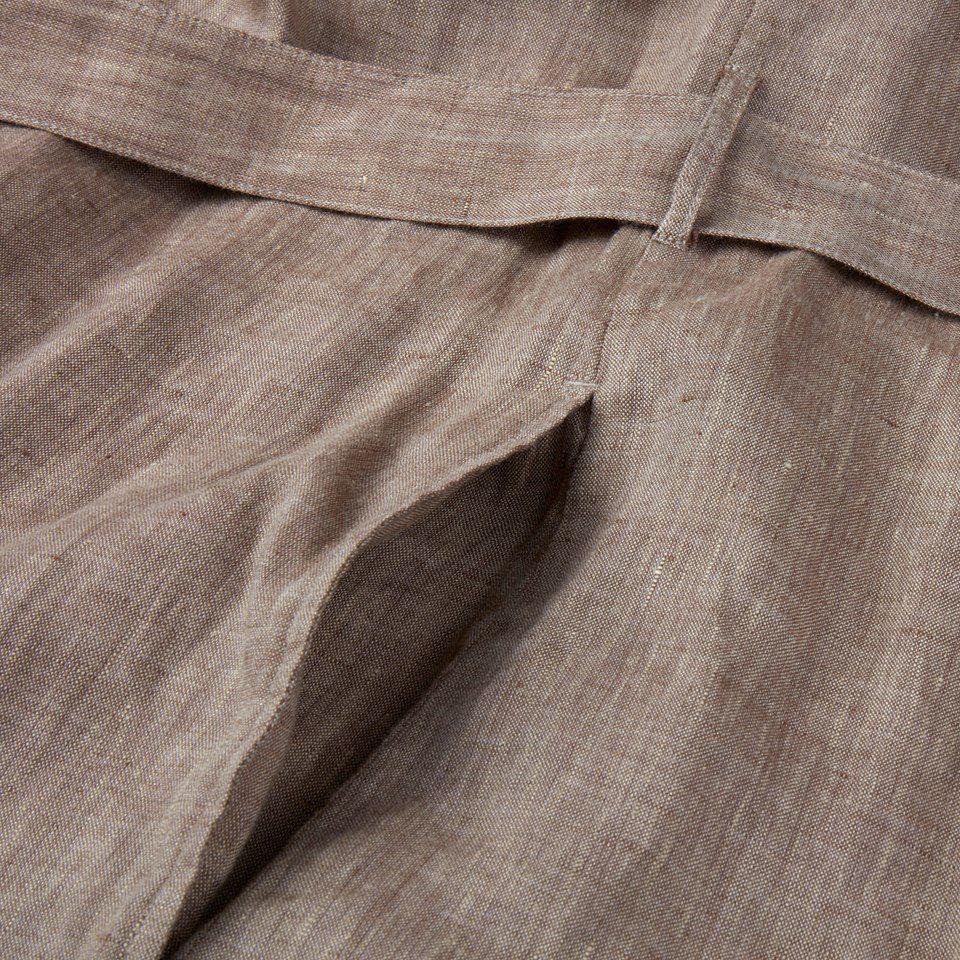 Stenstroems Anette kjole i linen beige 3