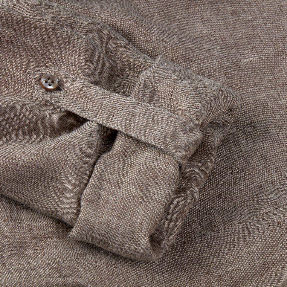 Stenstroems Anette kjole i linen beige 5