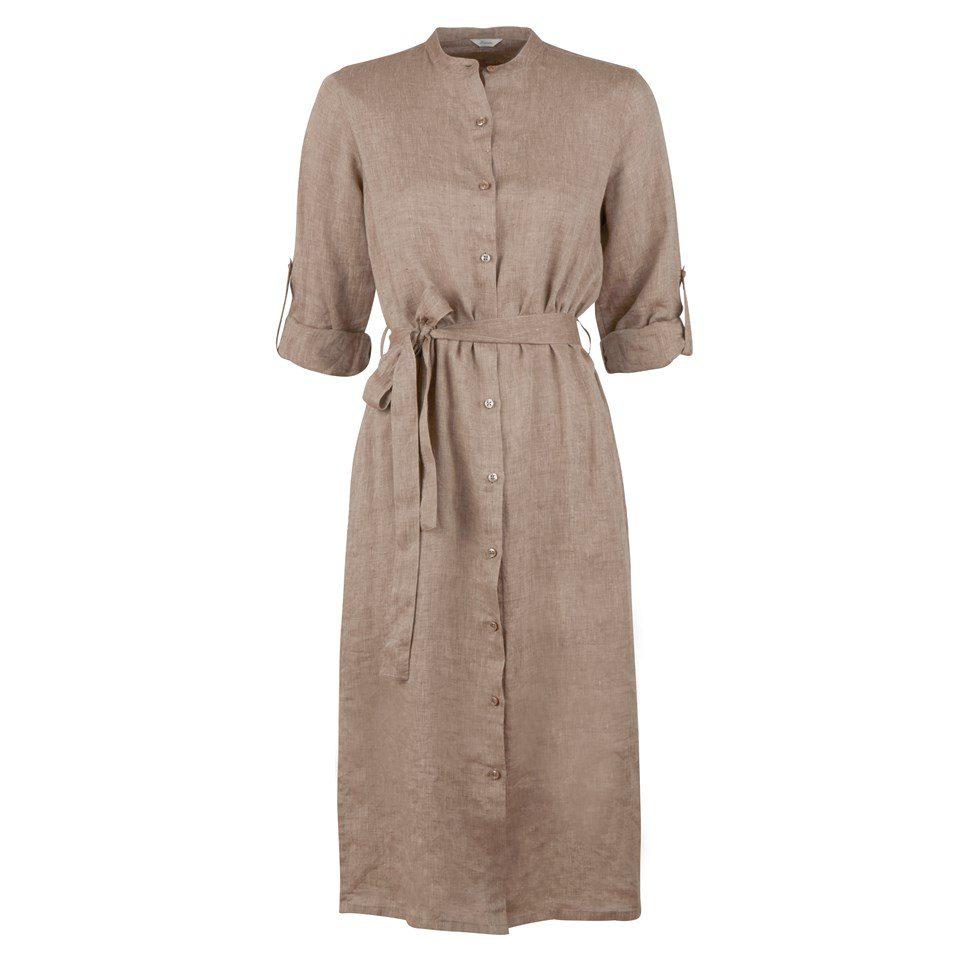 Stenstroems Anette kjole i linen beige