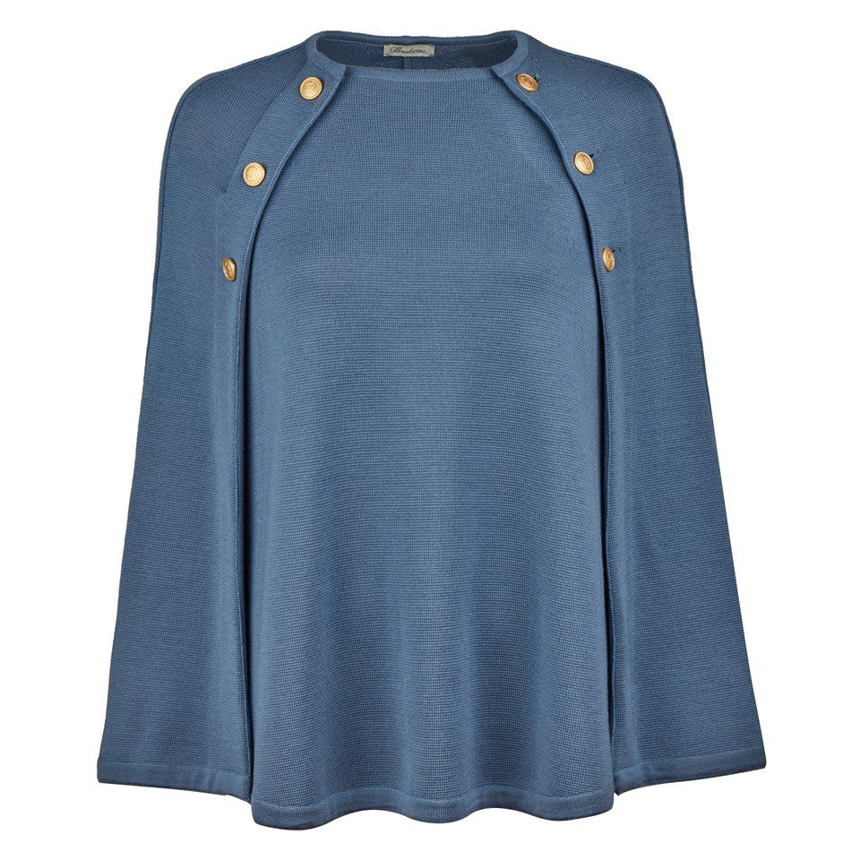 Stenstroems Mary Merino Cape Blue
