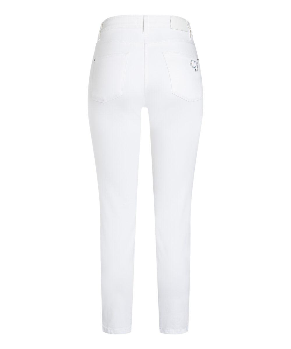 Cambio bukser Piper short hvid denim 1