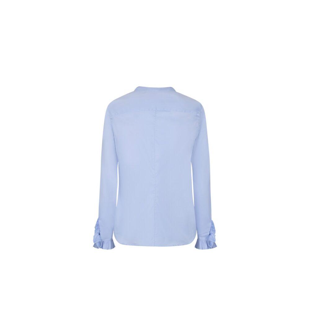 Mos Mosh Mattie sustainable shirt light blue 1