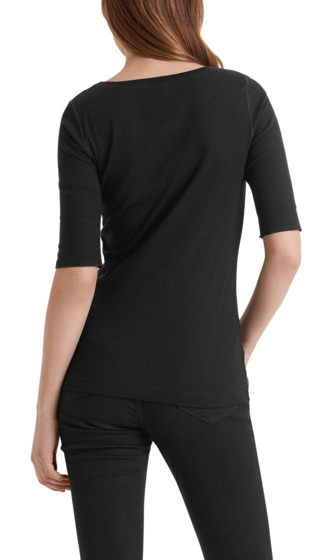 Marc Cain Essentials tshirt sort E4809J50 900 1