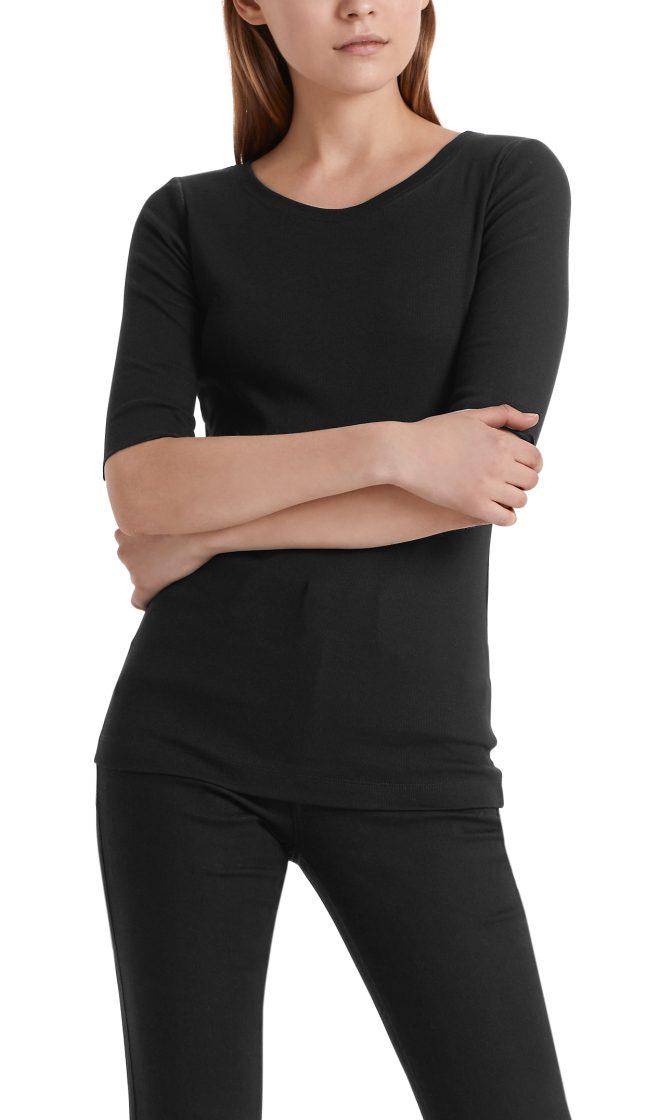 Marc Cain Essentials tshirt sort E4809J50 900 4