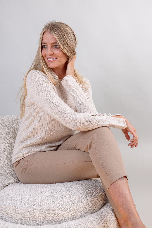 OTAY Abbelone cashmere sweater warm beige 2