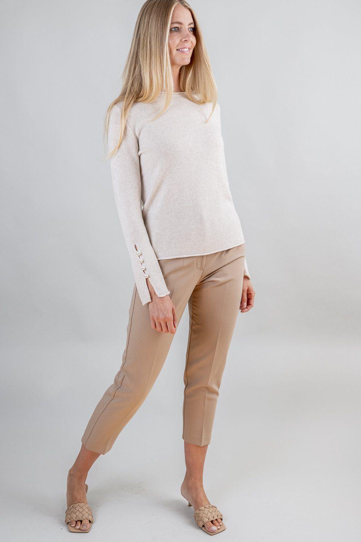OTAY Abbelone cashmere sweater warm beige 3