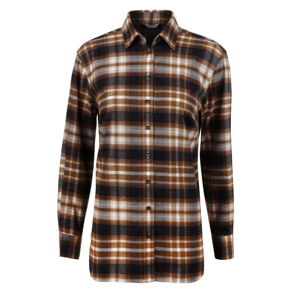 Stenstroms Sammi Boyfriend Shirt Checked Flannel